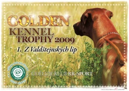 GOLDEN KENNEL TROPHY 2009